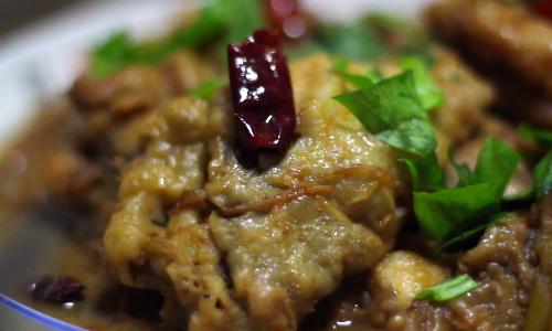 [寻找滨州味道] 老爸的私房菜——醋焖鲫鱼