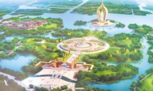 """博兴邀全国专家在京""""号脉把关""""龙华文化园建设 项目已被省政府确定为重点建设项目,杭州信雅公司为策划规划单位"""