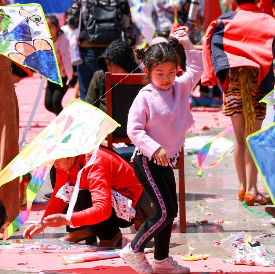 【鄒平市】長山鎮舉行首屆千人風箏節