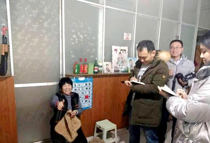 中央省内主流媒体密集采访阳信生物质清洁取暖试点工作