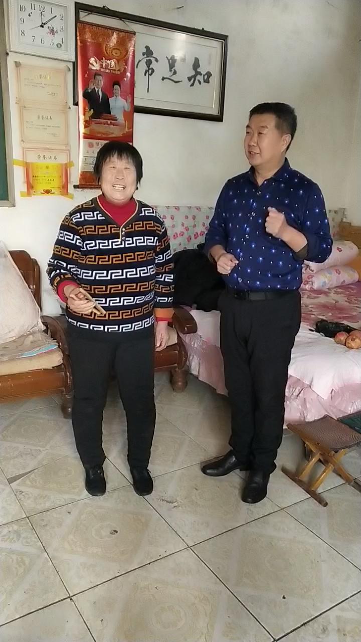 邹平阳光志愿者公益团队关注的关菊红大姐,自编自演的快板。