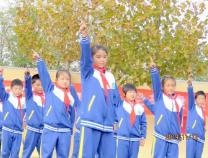 滨北中心小学举办韵律操比赛