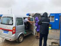 来自滨州港的报道:港区内所有施工人员强制撤离