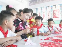 传统文化走进无棣小学校园 培育非遗传承人