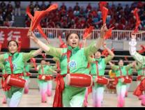 滨州市第四届老年人运动会开幕 佘春明宣布开幕