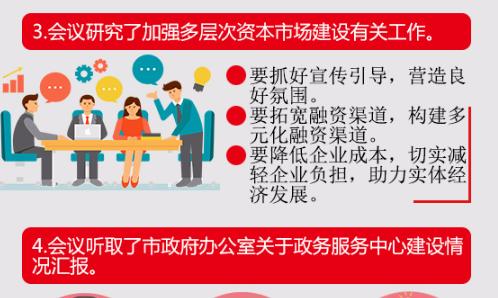 【一图读懂】滨州市政府第10次常务会议 抓好金融工作