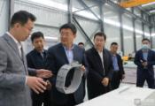 佘春明调研滨州重点项目建设运营情况:做优产业生态 推进产教融合