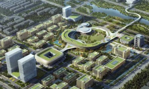平面构造、修建外不雅后果来了!滨州渤海先辈技巧研究院将建成如许!
