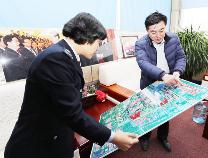 滨州市税务部门走访代表委员共谋发展