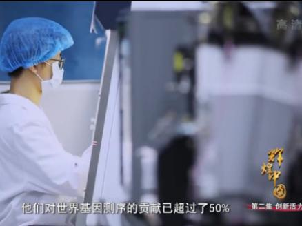 电视纪录片《辉煌中国》第二集《创新活力》