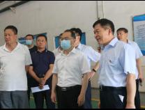 宋永祥调研城市防汛和安全生产工作