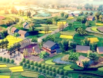 实施土地增减挂钩项目 促进城乡一体化发展