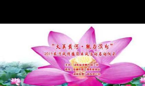 """滨州网直播丨""""大美黄河、魅力滨州""""2019年黄河风情摄影采风活动启动仪式"""