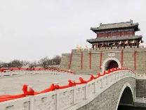 无棣古城张灯结彩过大年 春节的气氛你感受了吗?