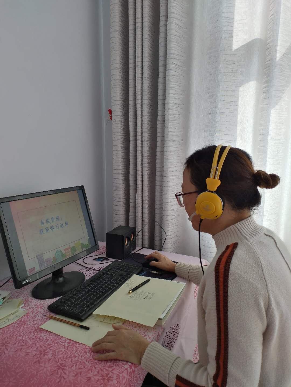 """滨城区梁才中心学校:停课不停学 激励学生""""亮剑决胜"""""""