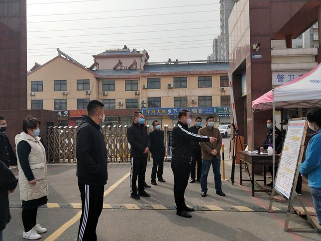 滨城区北城中学开展疫情防控开学模拟演练