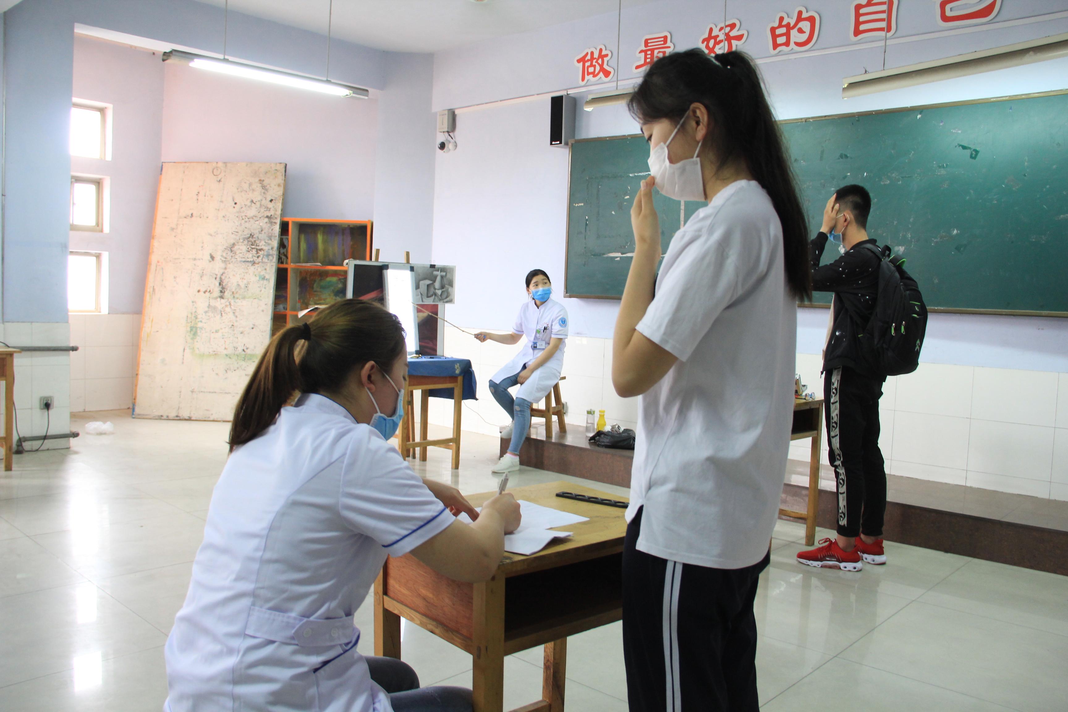 """无棣县送""""高考体检服务""""进校园 服务3653名高考学子"""