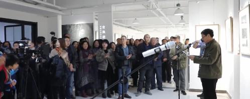 【视频】滨州现在艺术沙龙乔迁首展