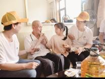 彭李街道黄河社区:公益服务进社区 其乐融融迎中秋