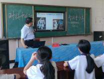 中科院科学家与滨城区中小学生面对面话科学