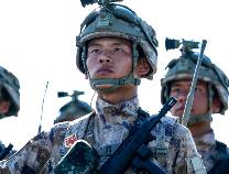 邹平青阳籍战士宋永钢在天安门广场光荣接受检阅