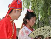 四大才子、民俗婚禮 國慶長假濱州這個古村兒熱鬧的不得了