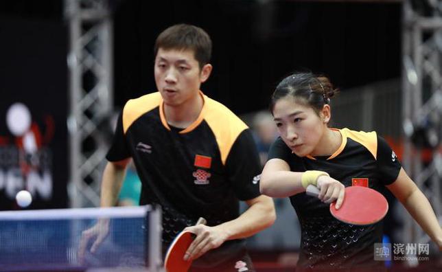 国际赛场上的滨州荣耀!梁靖崑和刘诗雯同时加冕公开赛冠军