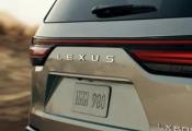 全新雷克萨斯LX预告图发布 