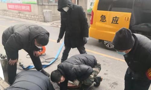 新春走基层|滨州市自来水公司:防疫抢修两不误