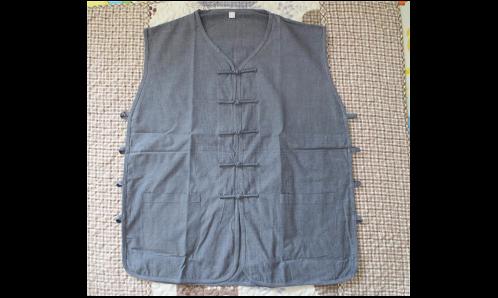 姥爷的一件粗布汗衫穿了几十年