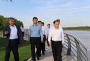 宋永祥开展黄河巡河并调研有关项目:持之以恒推进黄河流域生态保护和高质量发展