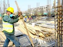 滨城区第七中学建设加速推进 计划今年建成投用