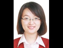 兴业银行理财经理杨晓璐