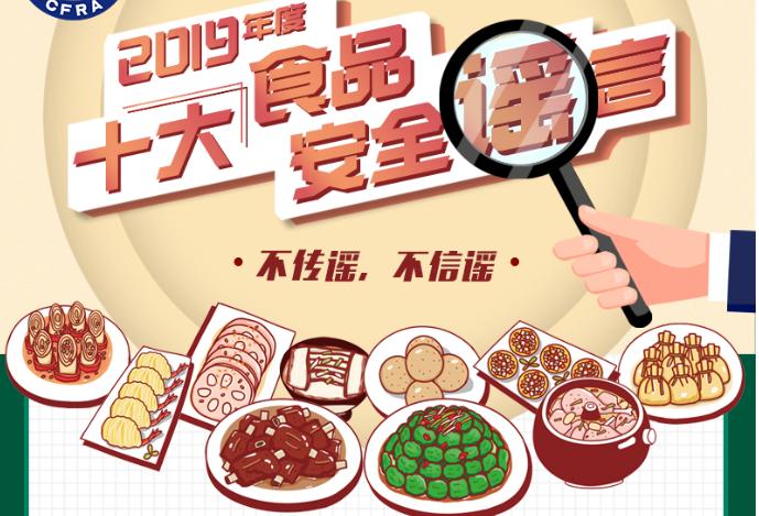 2019年度十大食品安全谣言 你信了哪条?