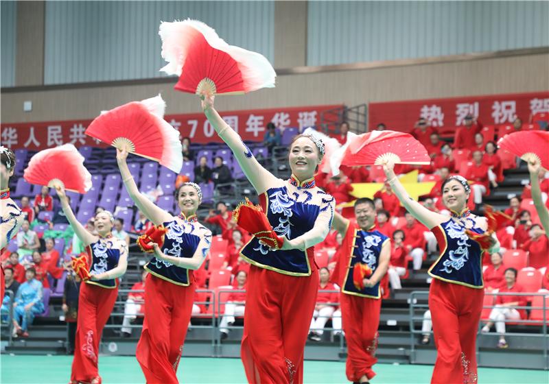 莫道桑榆晚 夕阳正当红——滨州市第四届老年人运动会圆满落幕