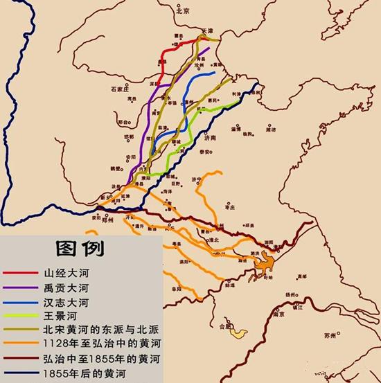 【扒着门缝看汗青】(108)滨州与黄河的缘分始于两千年前