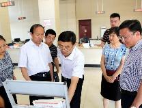滨州市退役军人事务局领导到邹平市韩店镇调研