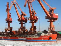 42767噸!濱州港再次打破晝夜作業量紀錄