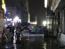 渤海国际一麻辣烫店外发生液化石油气闪爆 4人受伤