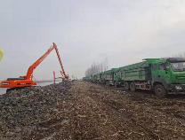 小清河复航工程博兴两个项目同时开工