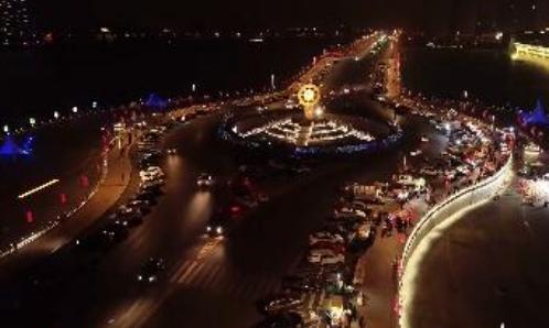 【视频·我在滨州过大年】中海点亮新春,滨州年味浓浓