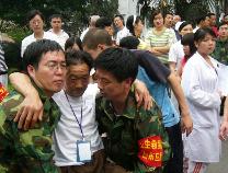 纪念滨州援川十周年 22天开展医疗救援 也时时在接受坚强教育