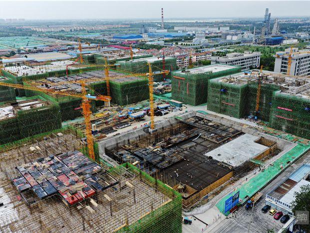 滨州惠众产业园建起标准化厂房吸纳小微企业入驻