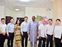 滨州日报/滨州网记者采访几内亚总理及有关部长 为滨州打探商机