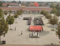 杨柳雪镇明德小学传唱经典红歌庆祝新中国成立七十周年