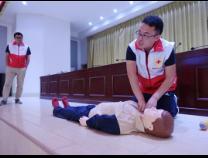 """杨柳雪镇志愿者接受红十字会""""应急救护""""培训"""
