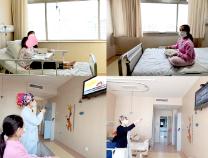 """滨州:""""空中课堂""""进病房 为住院患儿提供网上学习便利"""