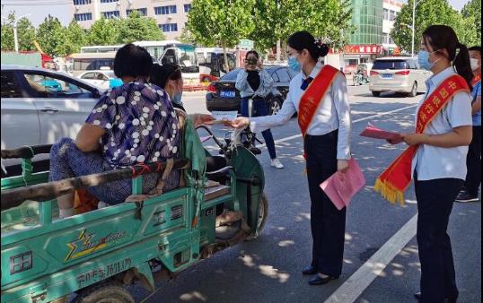 滨州中行沾化支行结合多部分展开金融扫黑除恶暨防备不法集资集中宣传