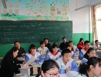 惠民县教研室莅临淄角镇中学指导教学教研工作