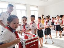 病魔无情 人间有爱 滨城区清怡小学二年级12班组织为患病学生家长捐款献爱心
